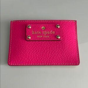 Kate Spade Hot Pink Carr Holder